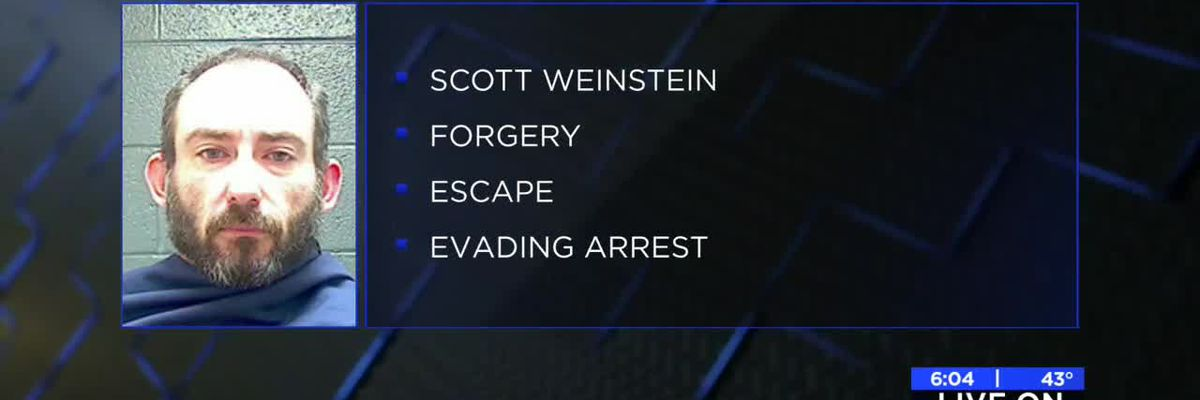 WFPD: Man tries to escape jail, trips and falls
