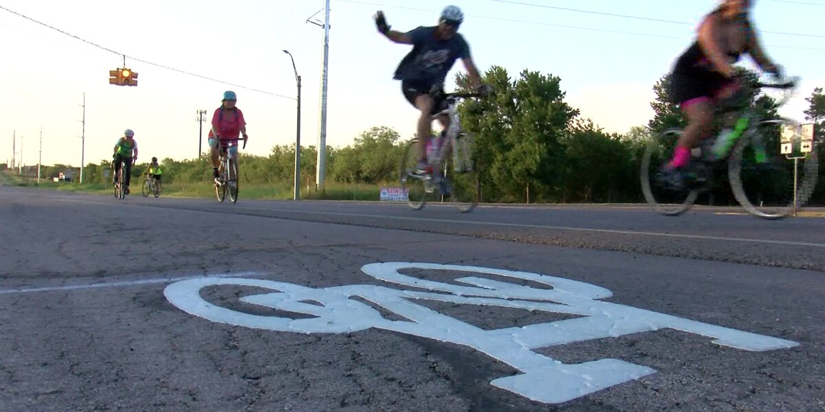 New bike lane marks the start of new project in WF