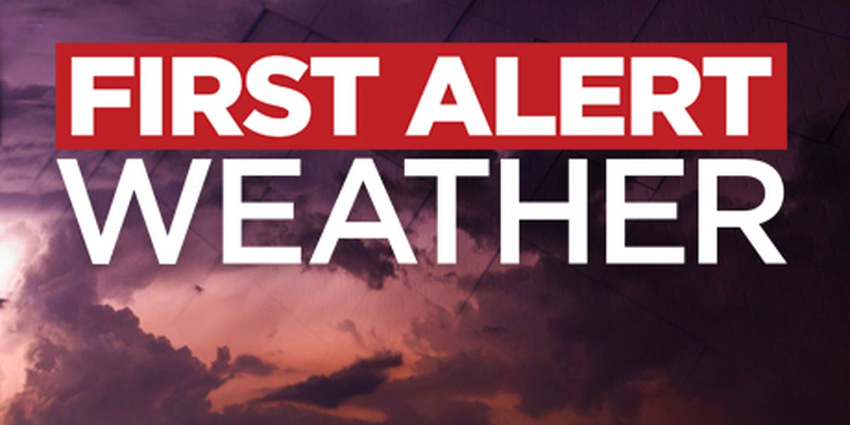 Monday's severe weather threat the highest we've seen this year