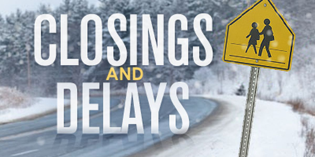 Inclement weather causing Texoma closings and delays for Wednesday