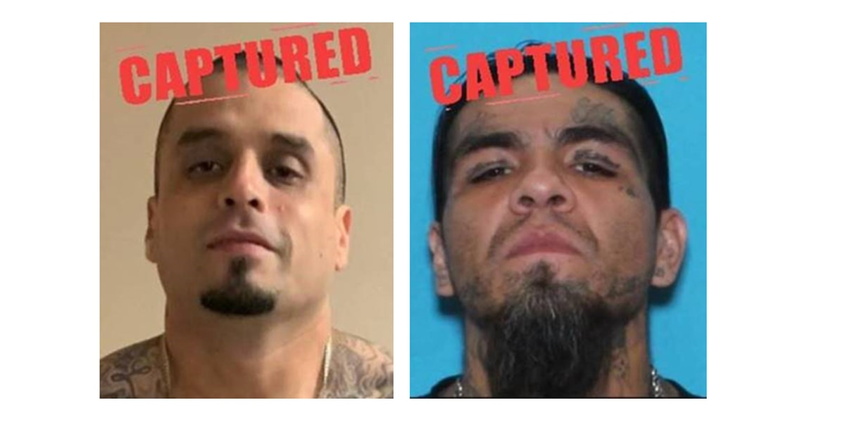 Two of Texas' 10 Most Wanted back in custody, one arrested in Snyder