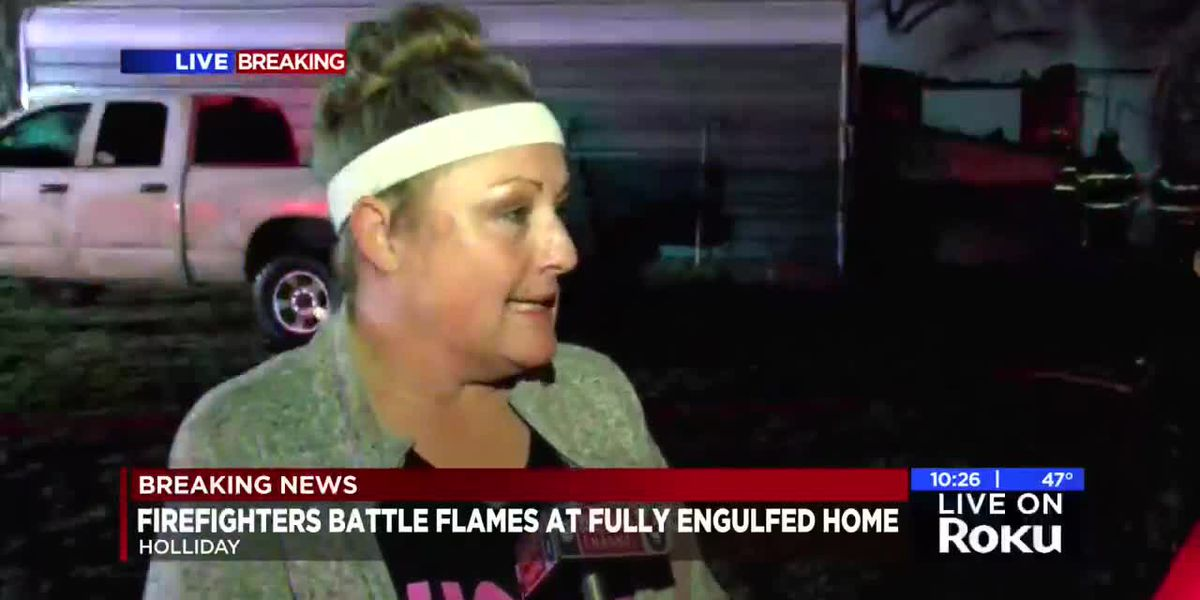 Owner of house that burned down in Holliday