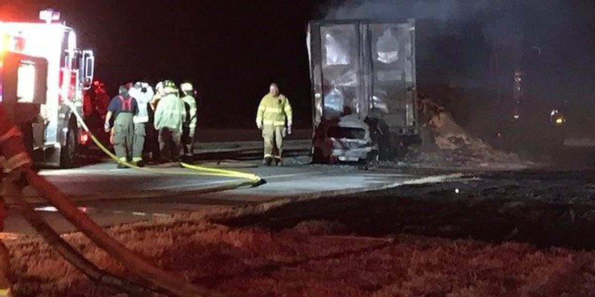 At least one killed in wreck near Iowa Park