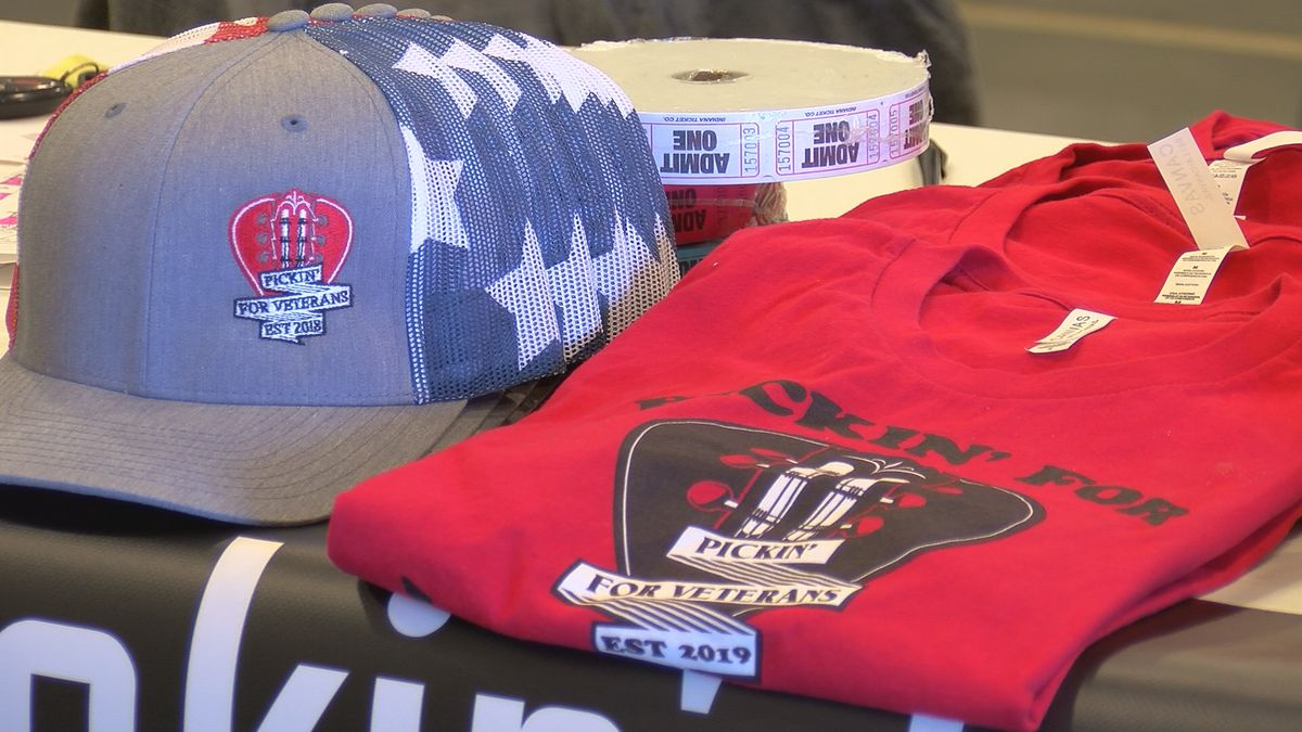 Pickin' for Veterans event will help vets pay for bills and get to the doctors