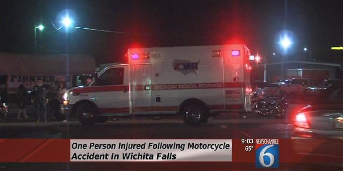 One Injured In Motorcycle Collision