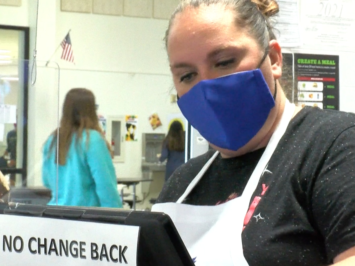 WFISD cafeteria workers honored for School Lunch Hero Day