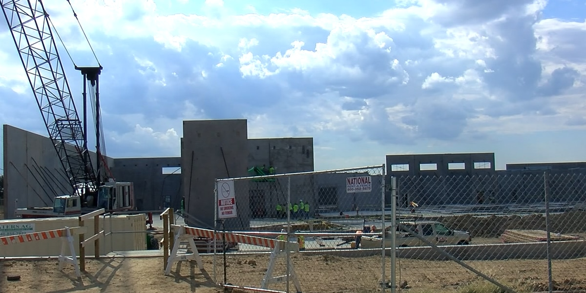 New Wichita County jail construction on track and under budget