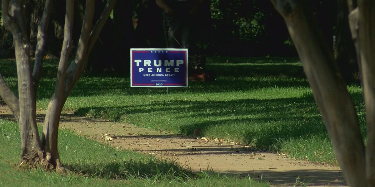 Wichita Falls residents deal with stolen political yard signs