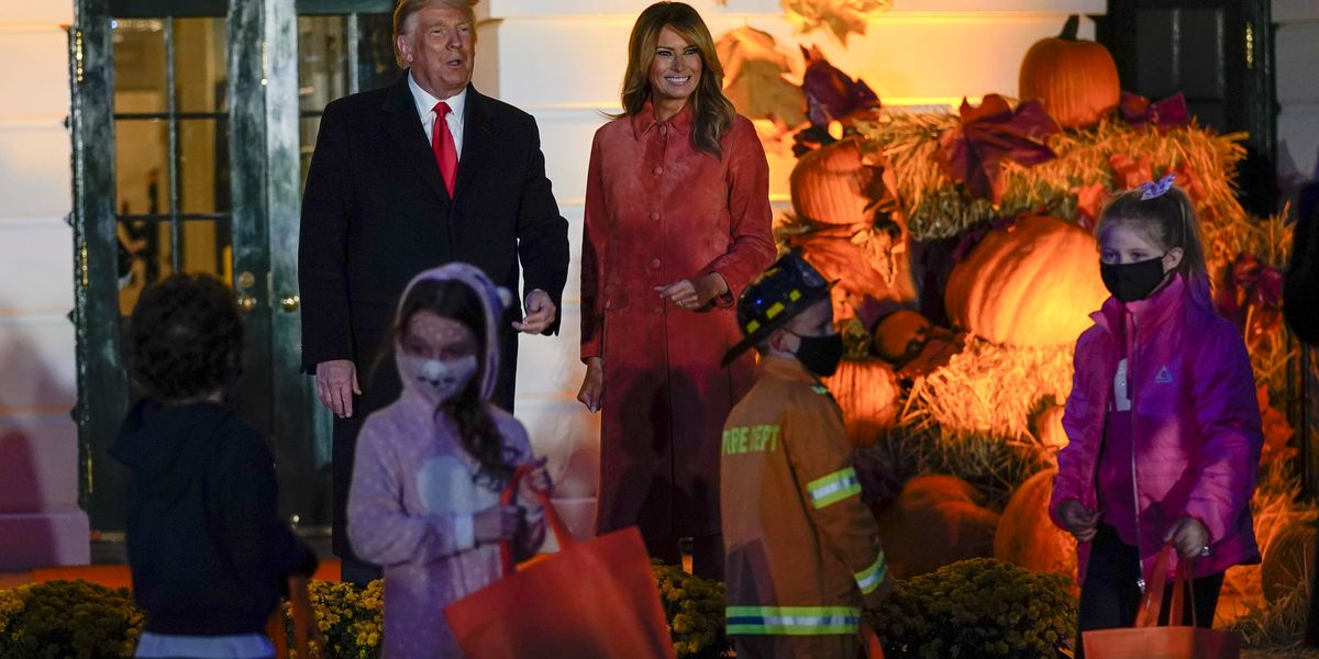 Halloween goes on at the White House with a few twists