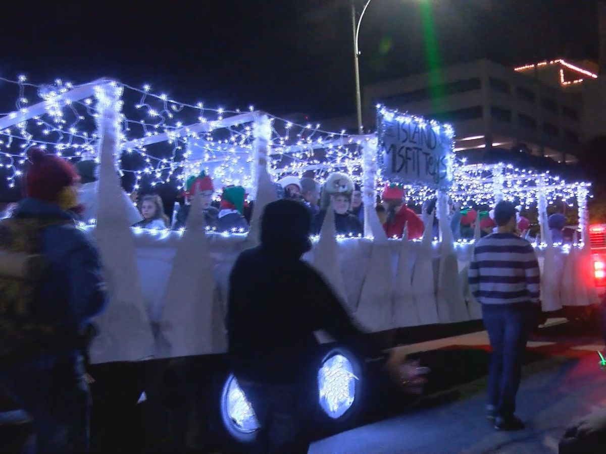 Hundreds celebrate annual WF City of Lights Parade