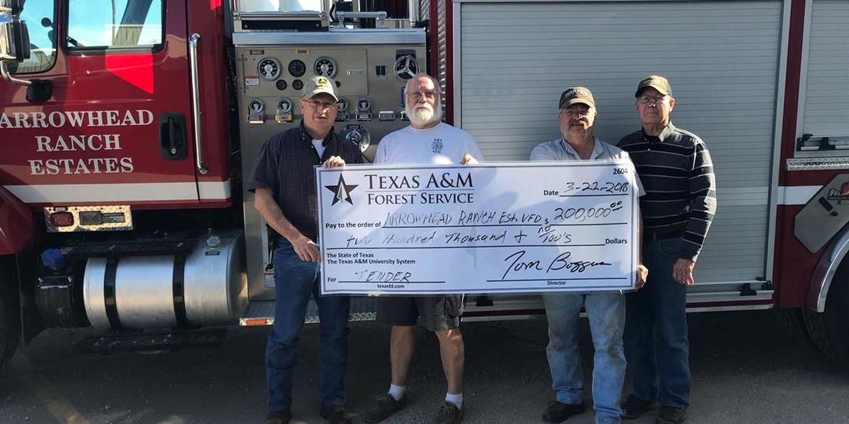 New truck purchase made possible thanks to grant for VFD