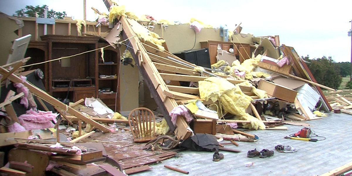 Tornado Destroys Homes And Businesses In Bowie