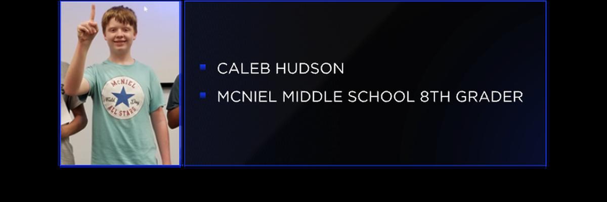 McNiel Middle Schooler wins regional civics competition