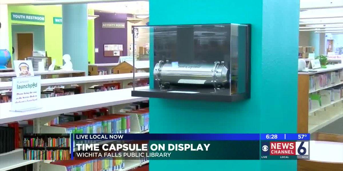 Wichita Falls Public Library seals time capsule