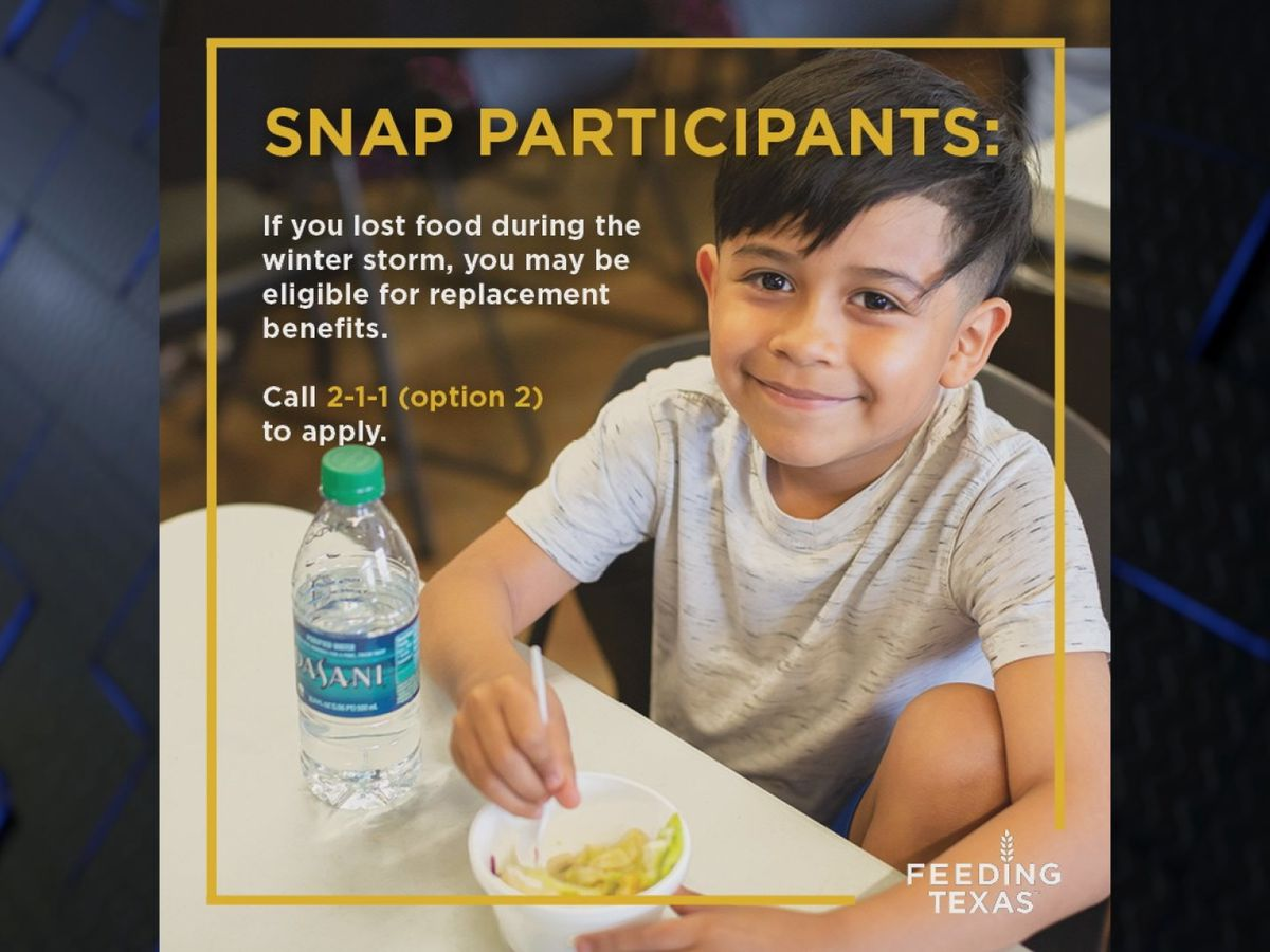 WFAFB announces program for SNAP benefit replacement