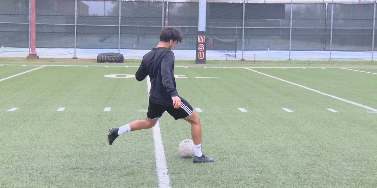 Athletes focused on staying active during time off