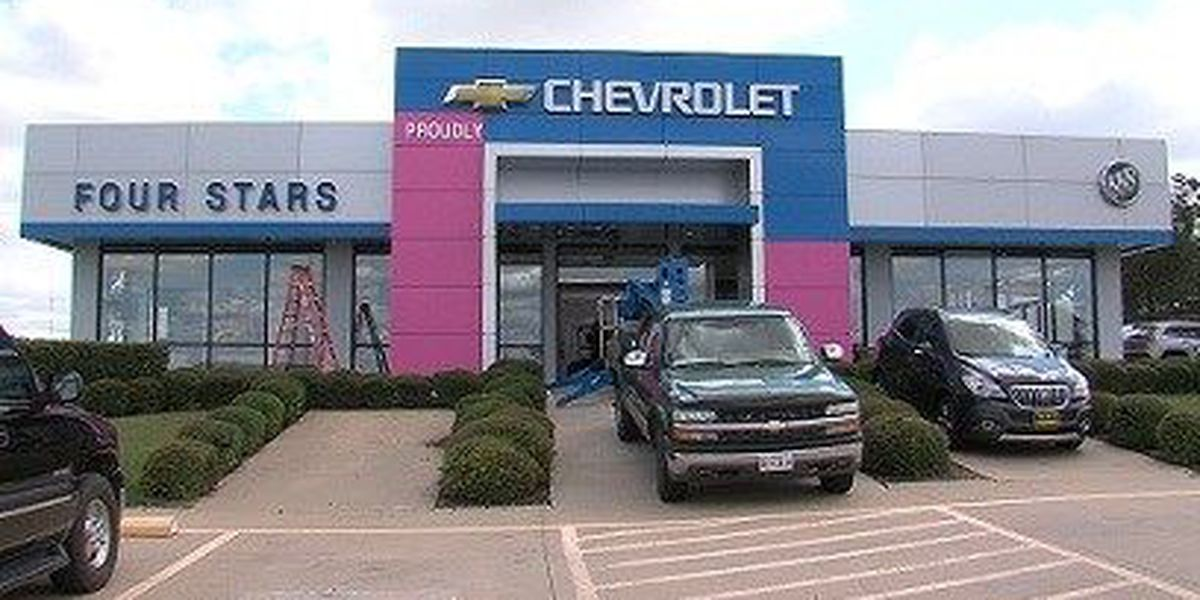 Four Stars Auto Ranch Goes Pink