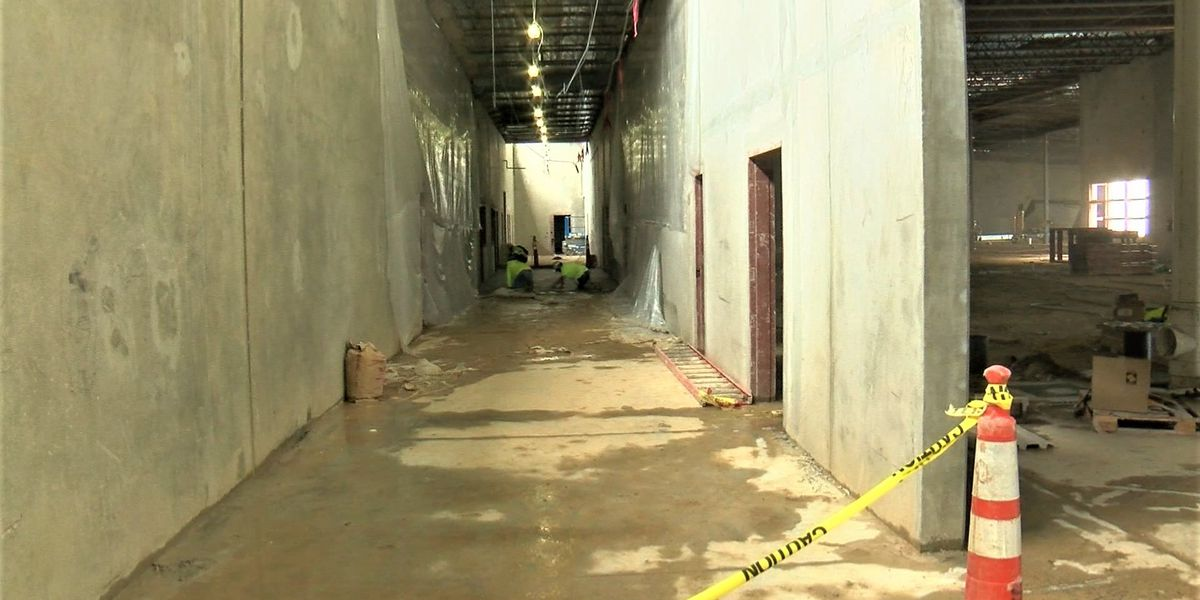 Law Enforcement Center nearly complete and adding beds