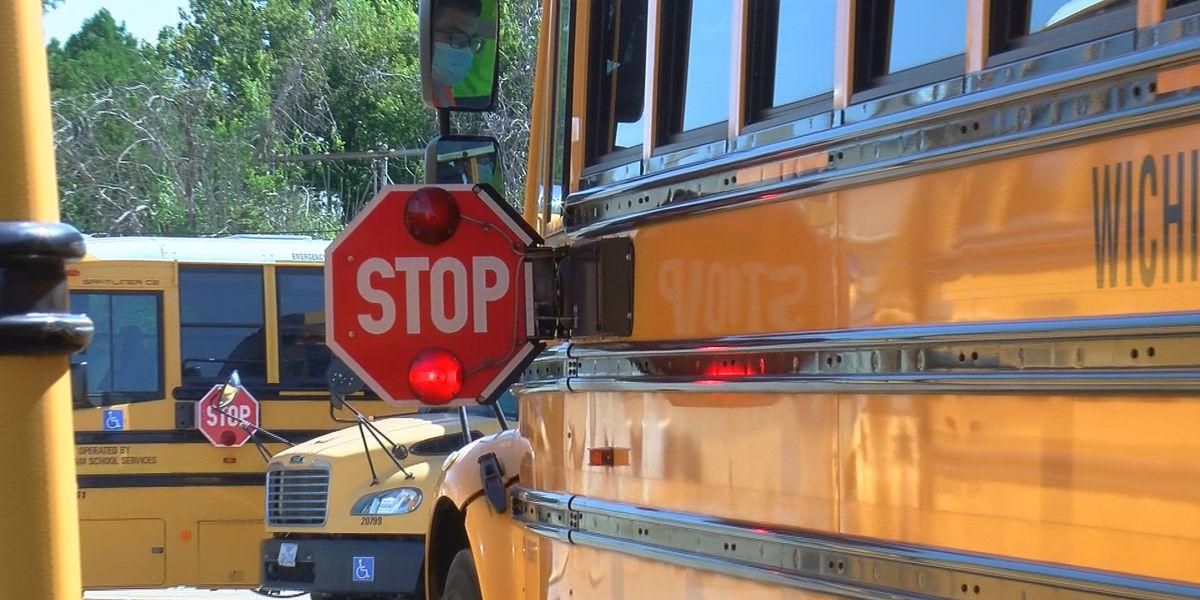 Children riding the school bus should expect a few changes