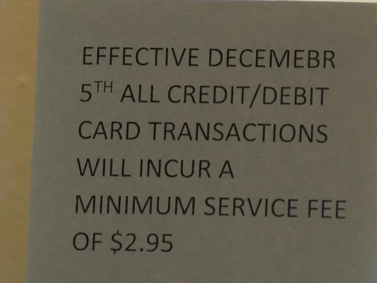 WF implements credit card fee for utility bills