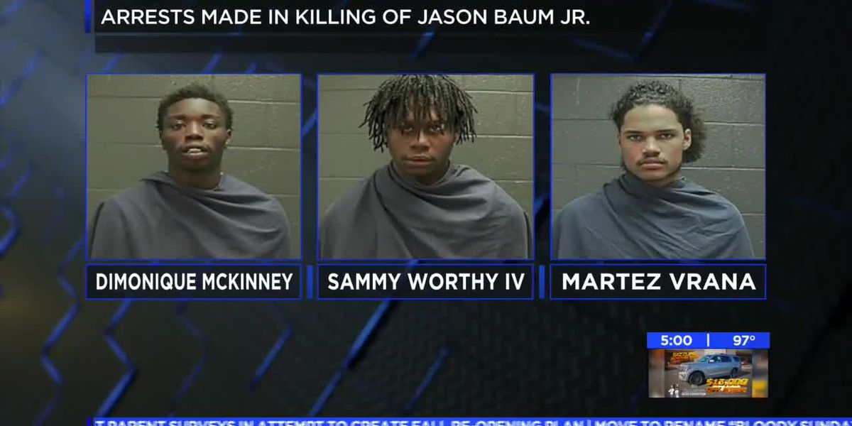 Three charged in the murder of a WF man from early June
