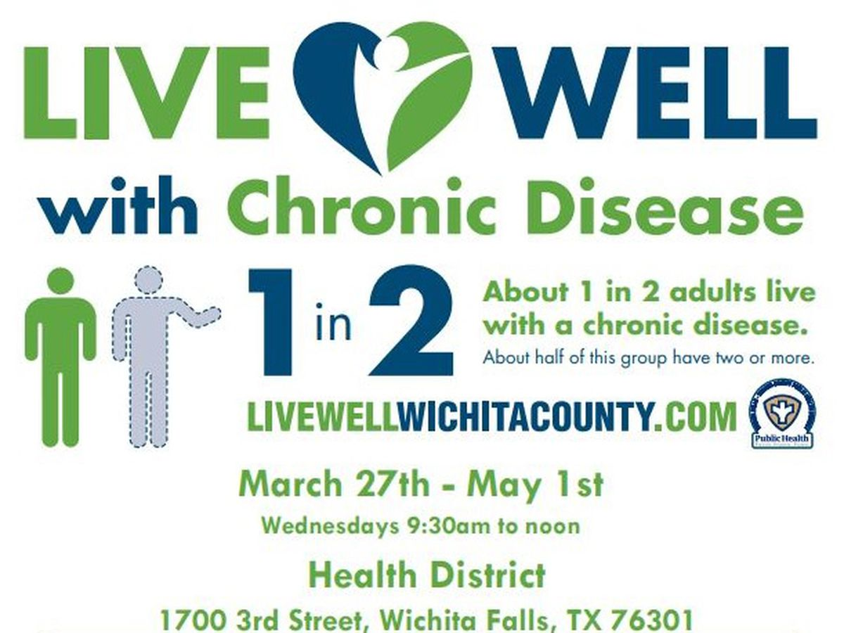 Live Well Wichita Co. to host course on managing chronic disease