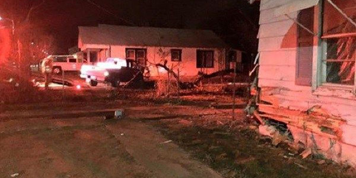 Drunk Driver Slams Into Wichita Falls Home After New Year's Fun