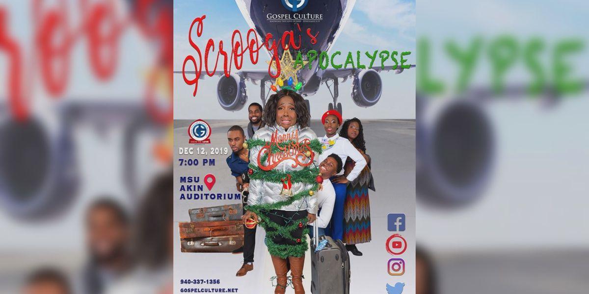 Gospel Culture Campus Ministry's 'Scrooga's Apocalypse' production