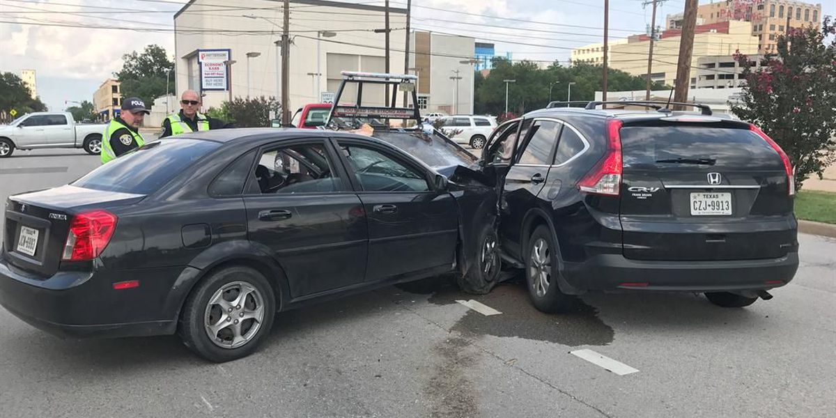 Woman sent to hospital following accident on 6th and Austin