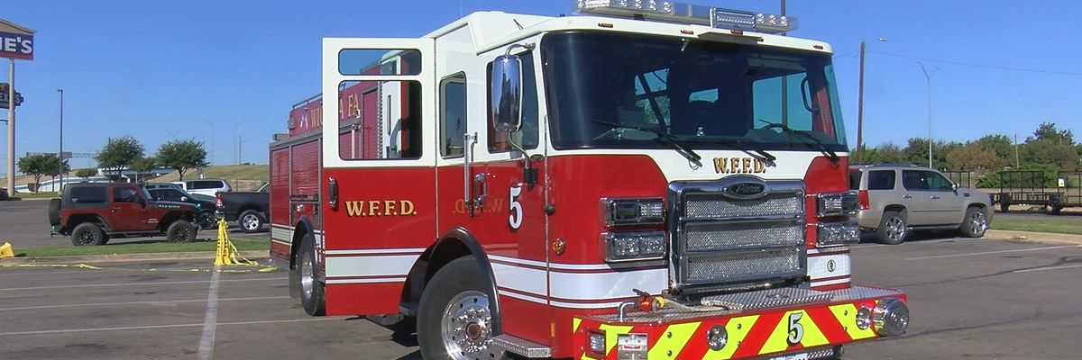 Firefighters teach families fire safety tips