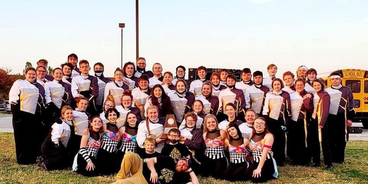 Henrietta High School band earns 1st Division award at region contest