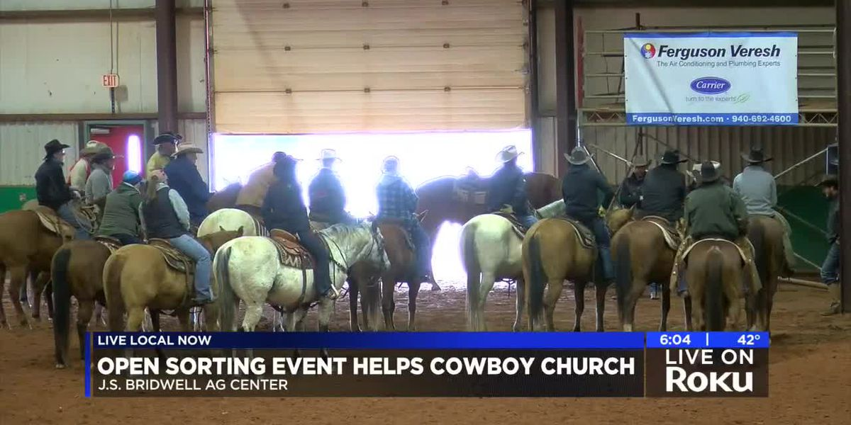 Cowboy church hosts fundraiser