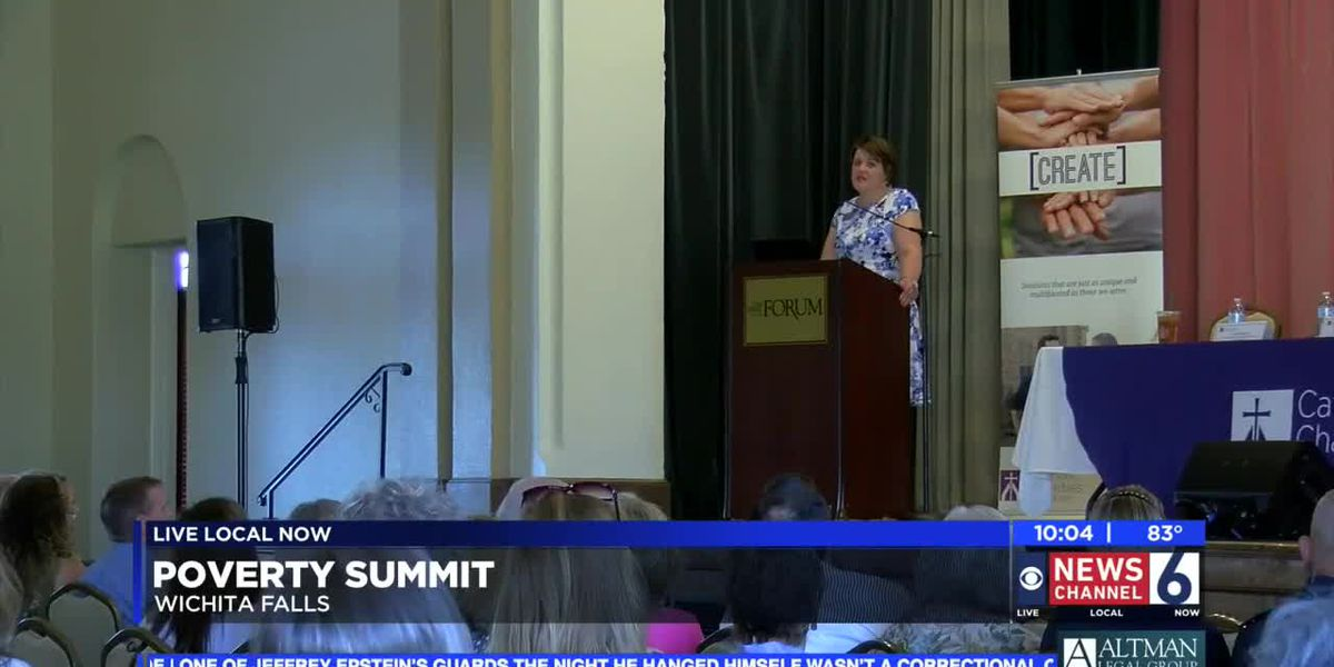 poverty summit in wichita falls