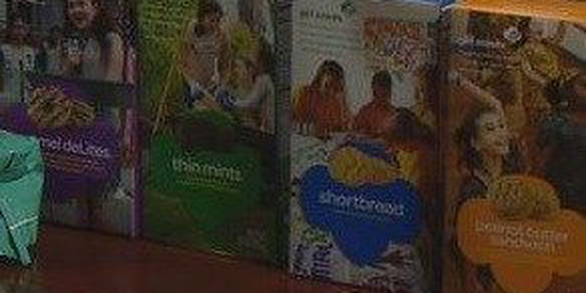 Girl Scout Cookies Are Back