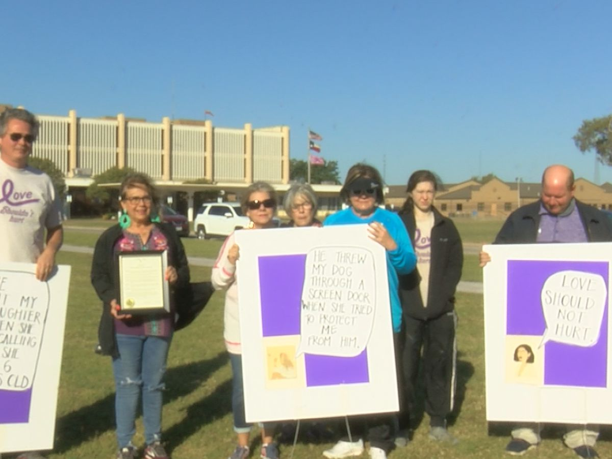 Texoma Alliance to Stop Abuse has inaugural event with remembrance walk