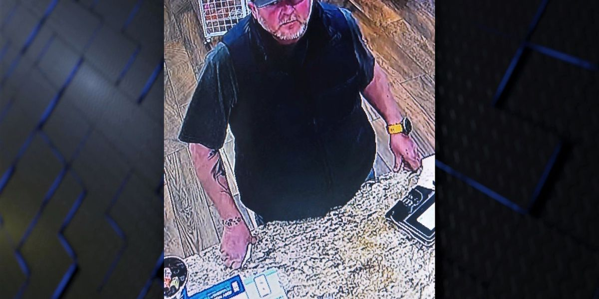 Clay County S.O. looking for man who stole rocking chairs