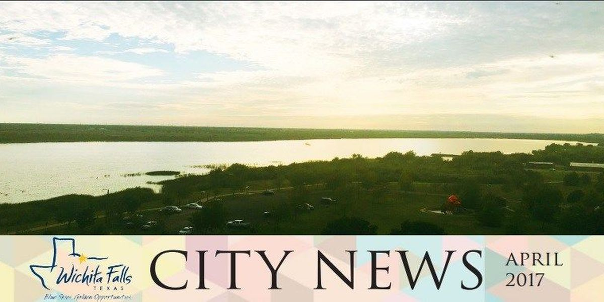 City of Wichita Falls releases events and newsletter for April