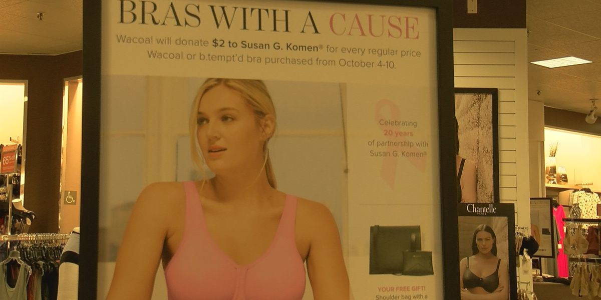 Dillard's partners with Wichita Falls Faith Refuge to get bras for women in need