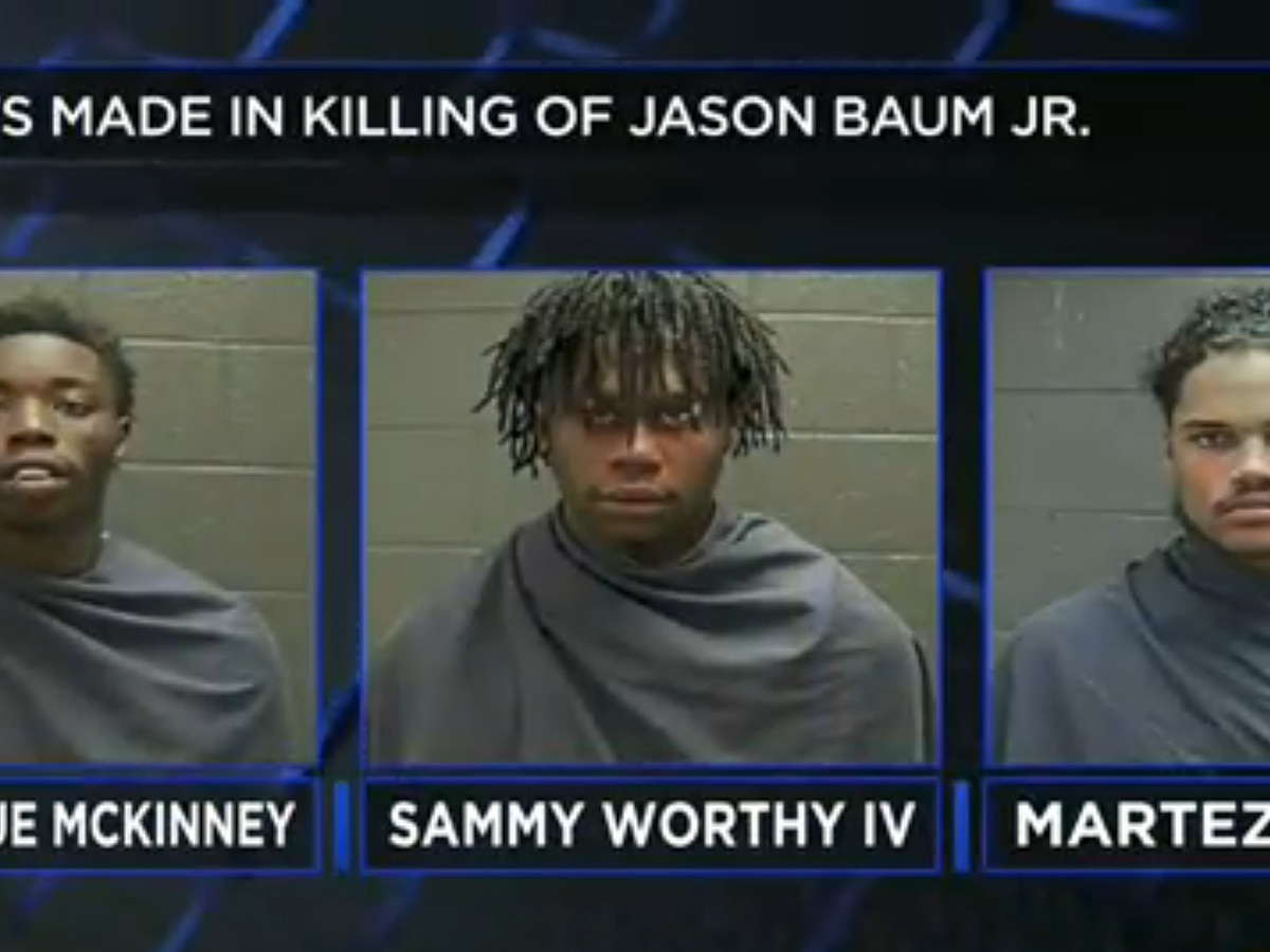 Three arrested in the murder of Jason Baum Jr.