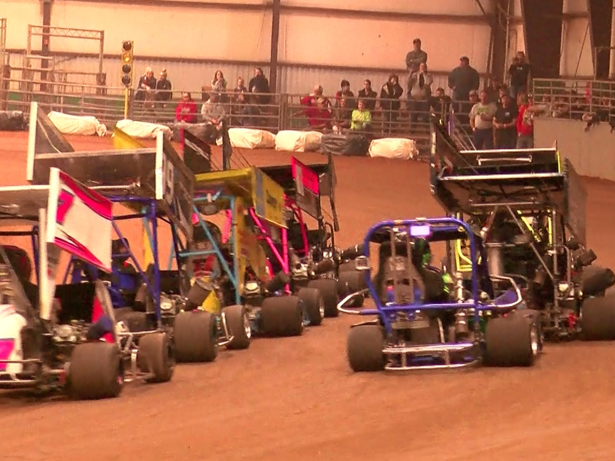 More than 100 Kart racers fill JS Bridwell Center