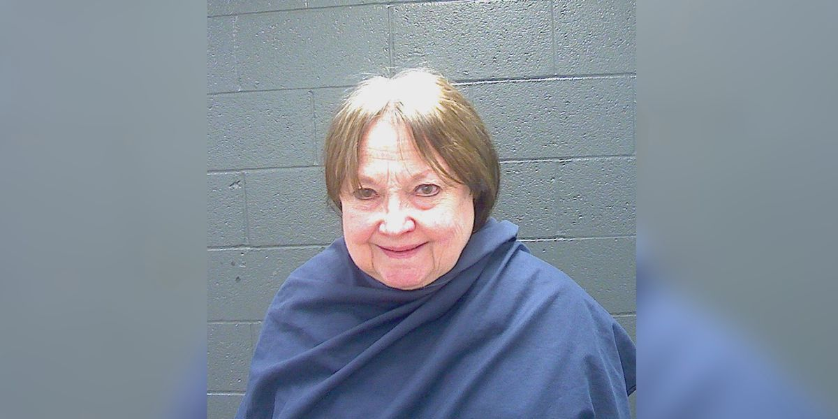 Robe wearing-elderly woman arrested for DWI and evading arrest