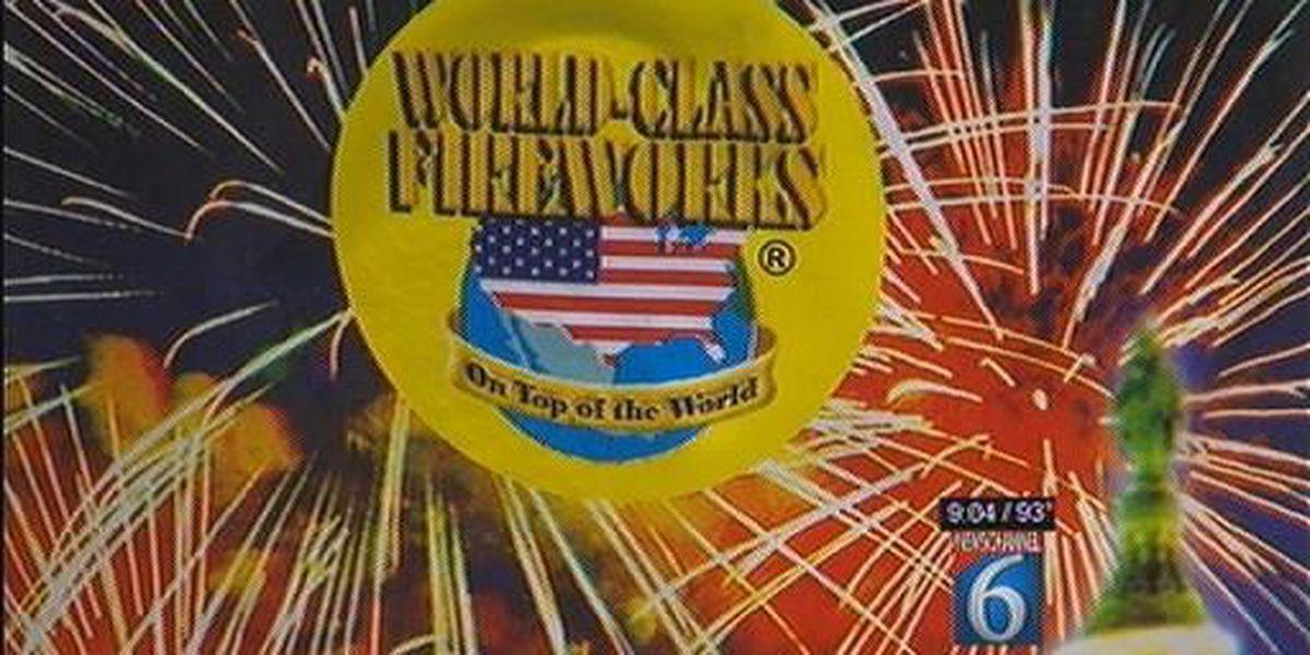 Fireworks Restrictions
