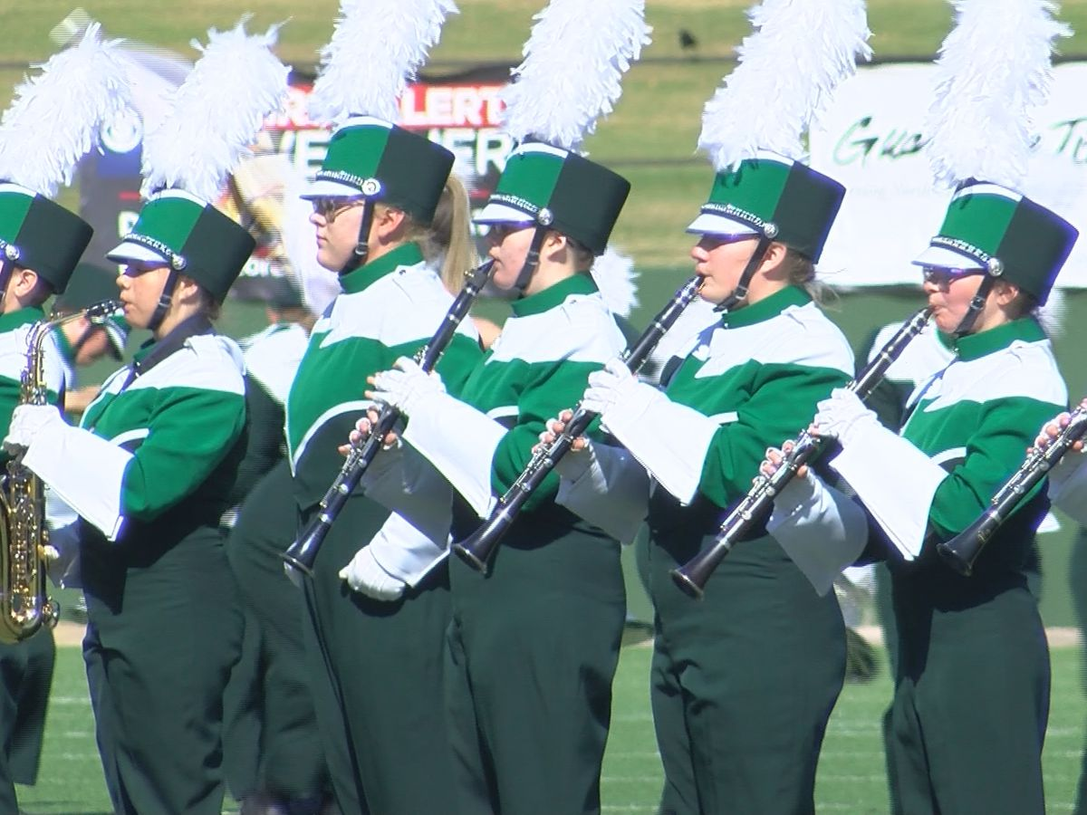 Marching Bands compete in UIL Marching Contest