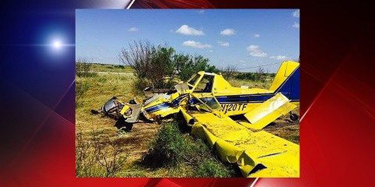 Crop Duster Crashes In Archer County