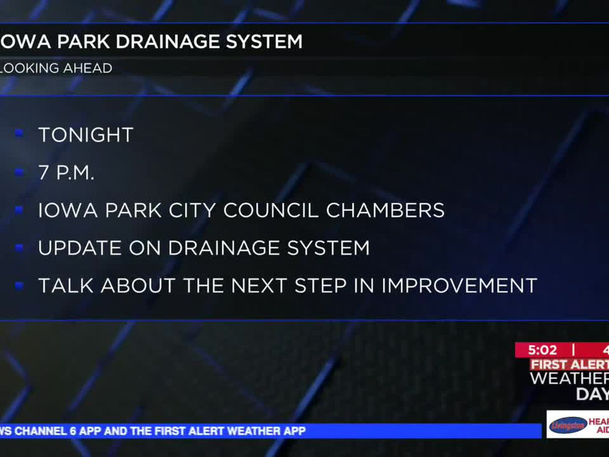 Drainage issues to be discussed in Iowa Park