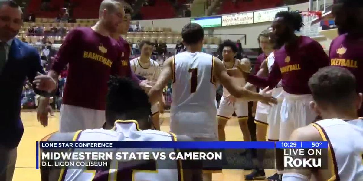Midwestern State hosts Cameron in red river doubleheader