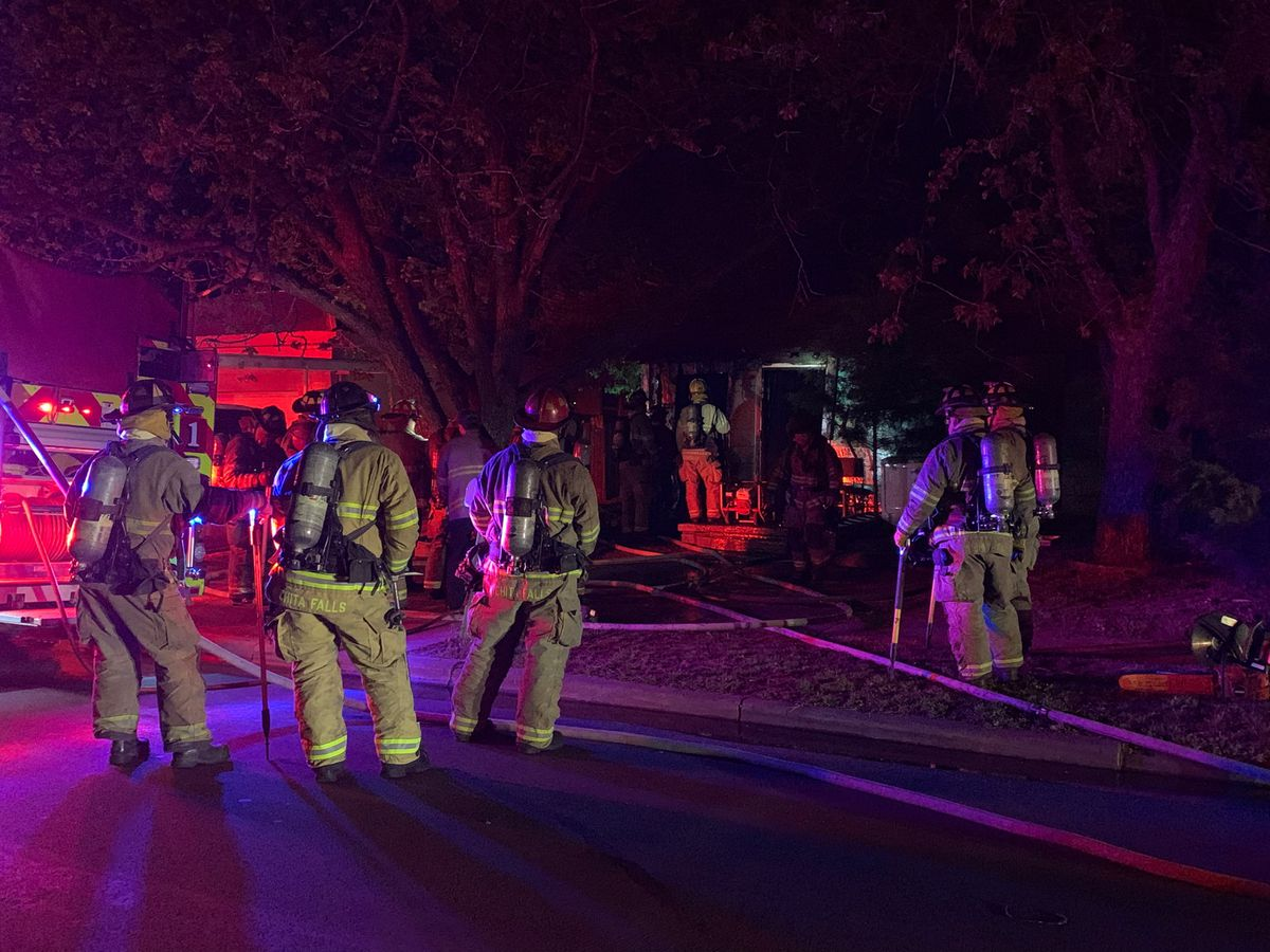 One taken to the hospital after N. 7th Street house fire