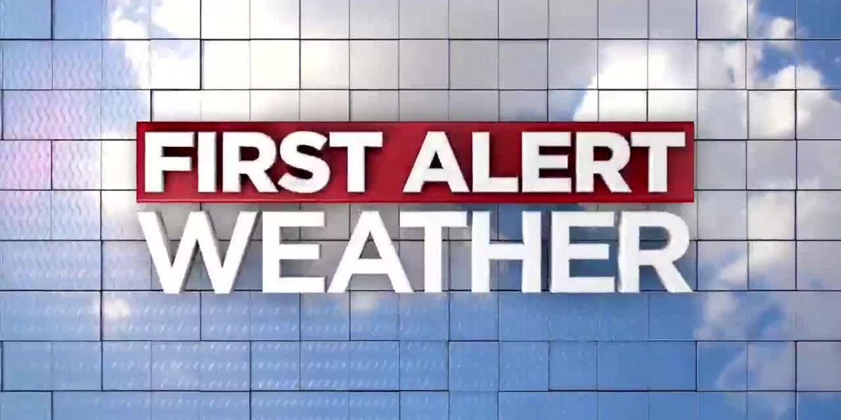 First Alert Weather Day for Saturday night and Sunday