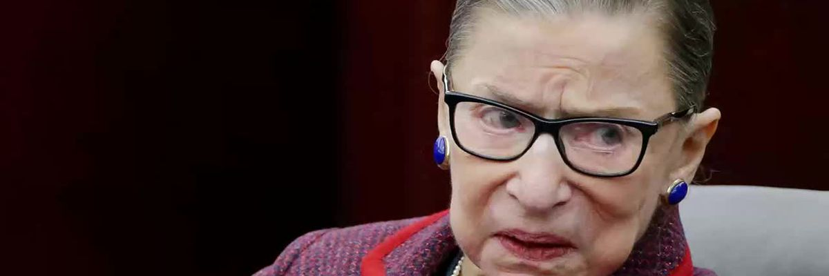 Justice Ginsburg makes appearance at Supreme Court closed-door meeting