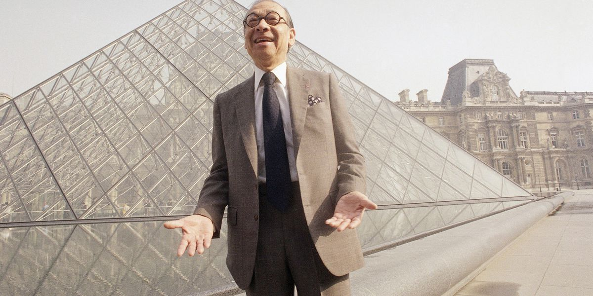 I.M. Pei, architect who designed the Louvre Pyramid and added elegant buildings to landscapes worldwide, dies at age 102